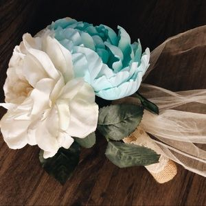 Tiffany Blue Country Bouquet